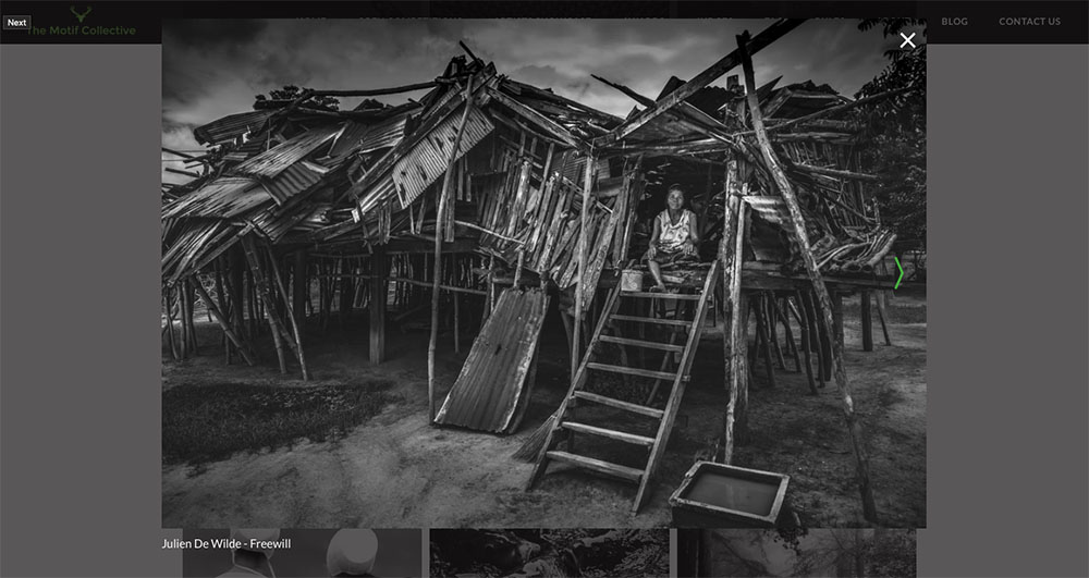 Julien De Wilde Photographer Winner The Motif Collective